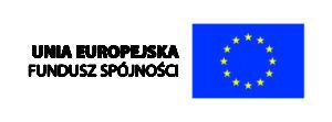 logo unii europejskiej i napis unia europejska fundusz spójności